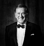 Sir Terry Wogan of Limerick, photographed for our Faces of LImerick portrait collection.