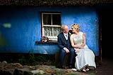 Bride and Groom at Bunratty Folk Park, Bunratty, Co. Clare, Ireland