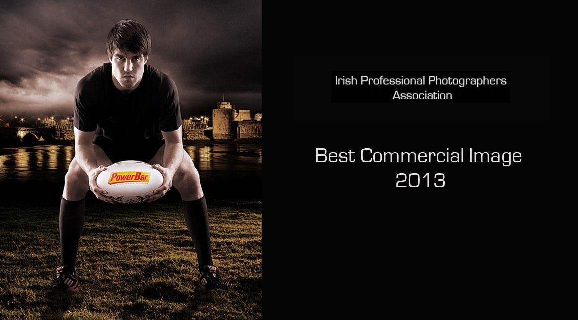 Conor Murray, Irish Rugby and Munster rugby scrum half's image won ''Best Overall Commercial Image'' at the 2013 Irish Professional Photographers' Association National Awards in Dublin