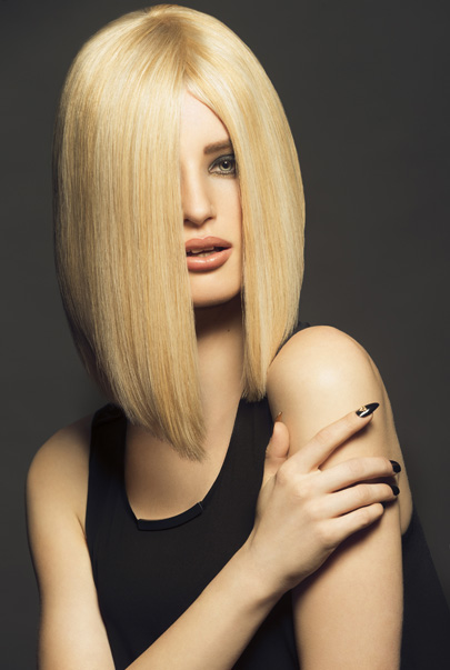Hair and Beauty photography for Ted Morgan Hair Dubai, Grace Connell of Morgan The Agency