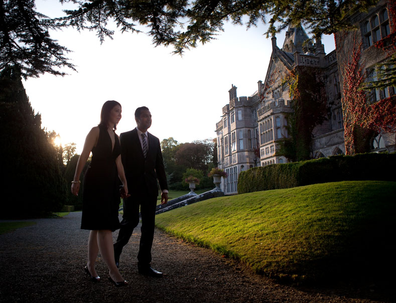 Adare Manor, Adare, Co. Limerick a beautiful location for this couple to announce their engagement