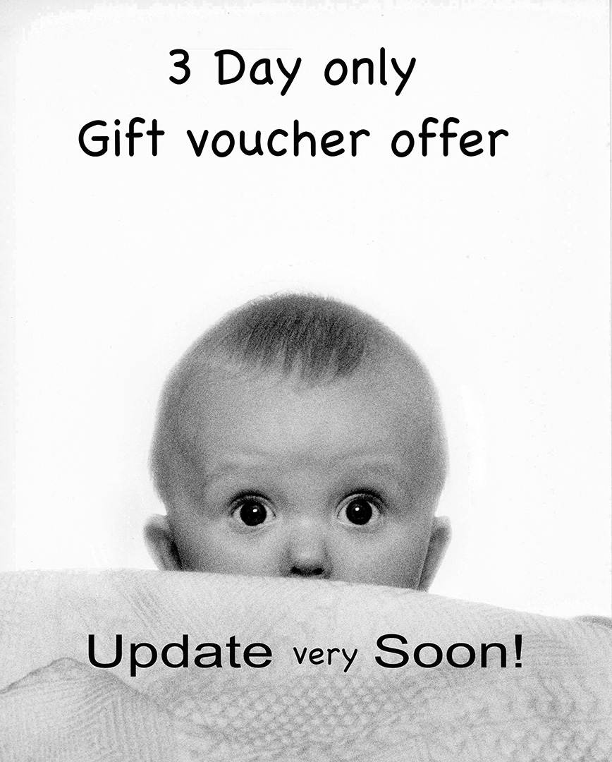 3 Day Gift Voucher REALLY Special Offer